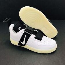 Nike Air Force 1 Low Utility Qs Shoes Men S White Black Av6247 100