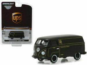 GREENLIGHT-1-64-UPS-Volkswagen-Type-2-Panel-Van-Diecast-Model-30020
