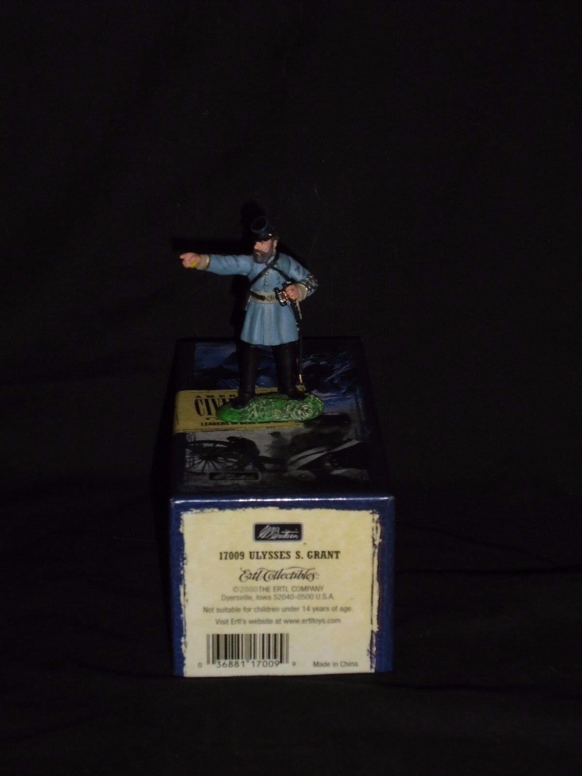 BRITAINS TOY SOLDIERS A.C.W. 17009 ULYSSES S.GRANT