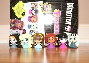 Monster-High-fashems-serie-complete-1-Mini-Toy-Lot