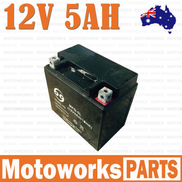 12V 5AH Battery 50cc 70cc 90cc 110cc 125CC ATV QUAD Bike Gokart Buggy Dirt Pit