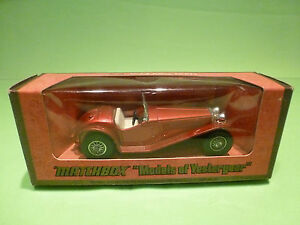 YESTERYEAR-1-43-MATCHBOX-Y-3-RILEY-MPH-1934-GOOD-CONDITION-IN-BOX