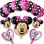 DISNEY-MICKEY-MINNIE-MOUSE-COMPLEANNO-PALLONCINI-BABY-SHOWER-SESSO-rivelare-Rosa-Blu miniatura 30