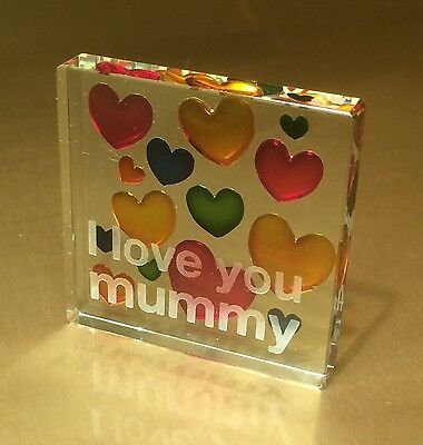 I Love You Mummy Spaceform Token Christmas Gift ideas for Her 366
