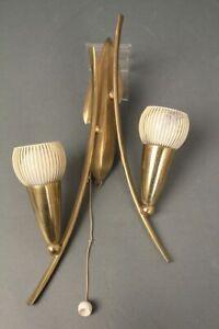 Lampe-Applique-Murale-Lampe-60er-70er-Annees-en-Laiton-Mid-Century-Vintage