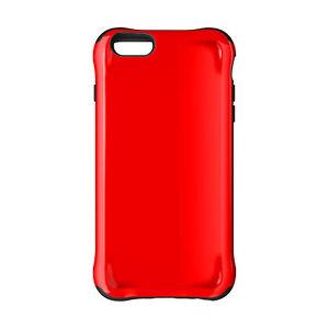 huge selection of 83da3 3107f Details about Ballistic Apple iPhone 6 Plus/iPhone 6S Plus - Black/Red  Urbanite Series Case