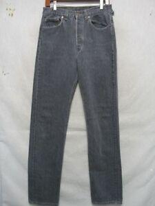 Cool Usa 501 hommes Black pour D7221 Levi's Jeans 31x35 Made fqOTA