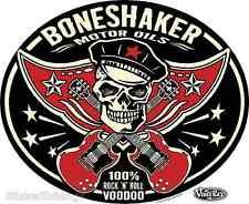 Boneshaker Motor Oils Sticker Decal Art Vince Ray VR50