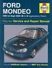 Ford Mondeo Service and Repair Manual: 1993 to Sept 2000 (K to X Reg) by Jeremy Churchill, R. M. Jex, A. K. Legg (Hardback, 2003)