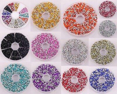 10g New Various Mini Cute Acrylic Crystals Nail Art Phone Decor Rhinestones Tips