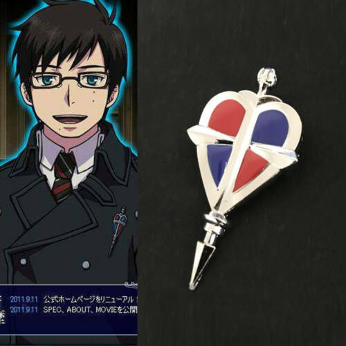 Ao No Blue Exorcist Cosplay Alloy Badge Breastpin Brooch Pin Anime New accessory
