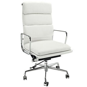eames softpad executive chair style office reproduction high back