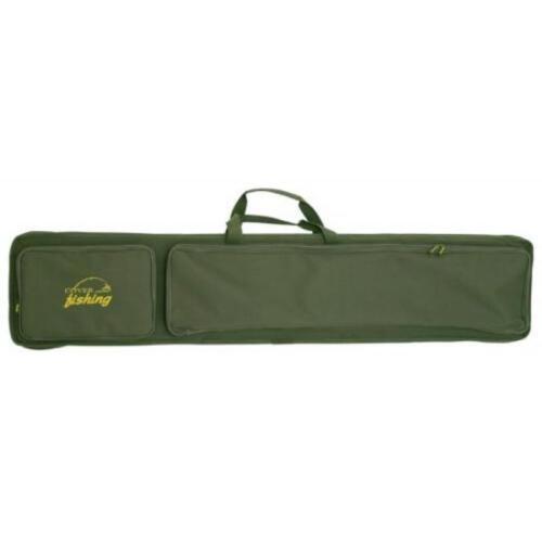 4 pcs Spinning Carry Bag Waterproof Hard Case Tube Fishing Rod Storage Racks New