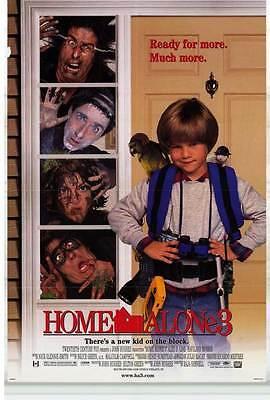 Home Alone 3 Movie Poster 27x40 D Alex D Linz Kevin Kilner Olek Krupa Rya 883311502513 Ebay