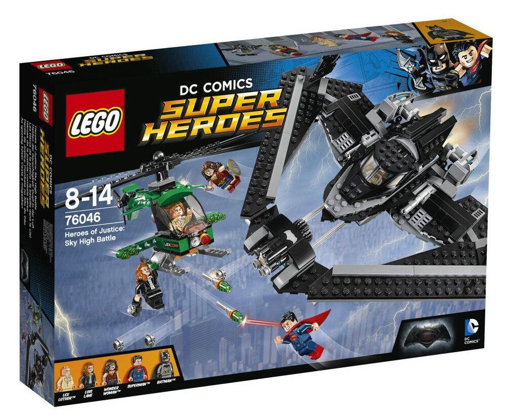 LEGO 76046 Eroi della Giustizia: Battaglia nei cieli SUPER HEROES 8-14anni