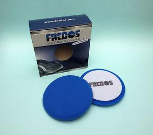 Polierschwamm-Facdos-C1-Cutting-Pad-universelle-Anwendung-3-Groessen-blau