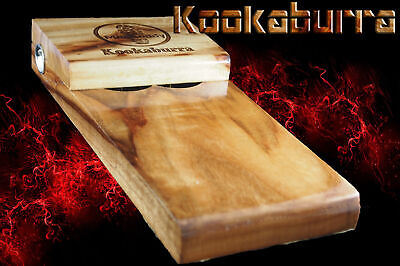 foot drum hand made solid timber stomp box Macdaddy Wombat