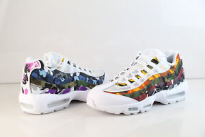 157d4388bd8 Nike Air Max 95 ERDL Party White Multicolor Camo AR4473-100 8-13 qs ...