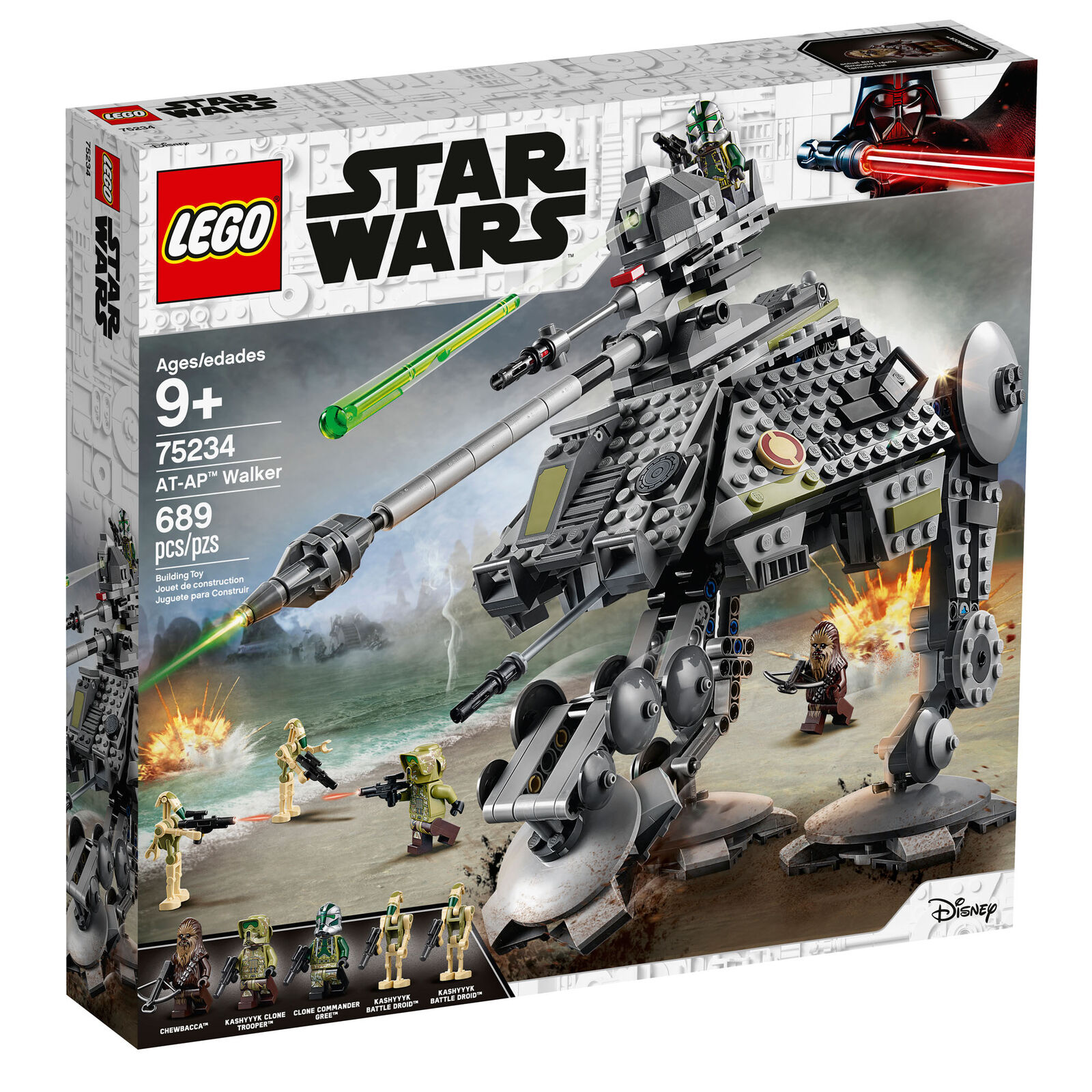 75234 LEGO Star Wars AT-AP Walker 689 Pieces Age 9+ New Release for 2019