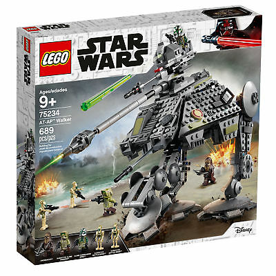 75234 LEGO Star Wars AT-AP Walker 689 Pieces Age 9+ New Release for 2019!