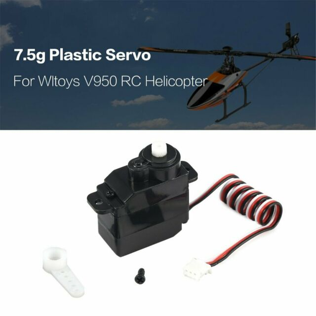 7.5g Plastic Gear og Servo for Wltoys V950 RC Helicopter Part Accessaries on