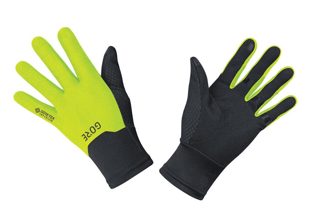Gore Goretex Infinium Handschuhe Schwarz Winter Sport Laufen Warm 100497-9908