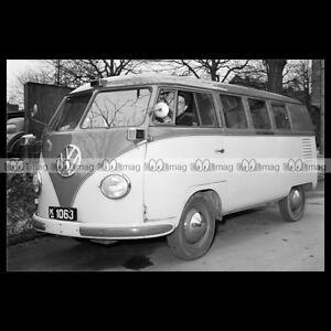pha-019132-Photo-VW-VOLKSWAGEN-TAXI-BUS-1954-VAN-COMBI-KOMBI-Car-Auto