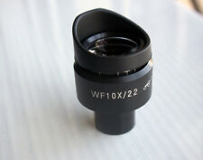 1 PC Wf10x/22mm Microscope Eyepiece High Eyepoint 23.2mm Tube Adjustable Diopter