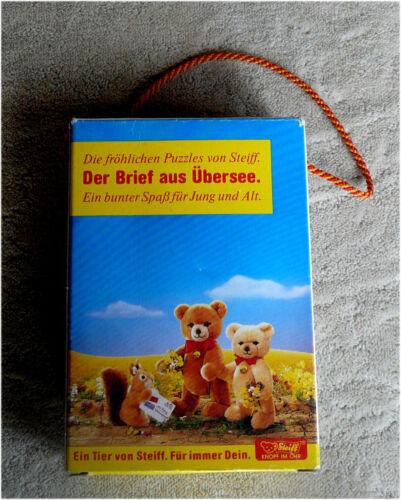 Sonstige 9848/01 • Der Brief aus Übersee • 1986 • Sammler fröhliches Steiff Puzzle • Art