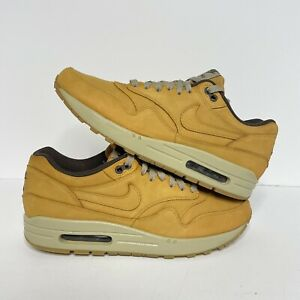 Details about Nike Air Max 1 Wheat Pack (2015) Size 10 (705282 700) Flax LTR Premium