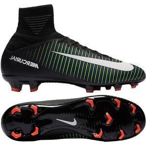 2319f45a66c3 NEW JUNIOR NIKE MERCURIAL SUPERFLY V FG SOCK FOOTBALL BOOTS SIZE UK ...