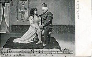GIUSEPPE-VERDI-RIGOLETTO-Opera-Lirica-PC-Circa-1900-Rare-Opera-THEATRE