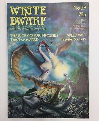 WHITE DWARF ISSUE NO 32 GAMES WORKSHOP WARHAMMER D/&D TSR CITADEL AUGUST 1982