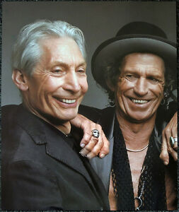 THE-ROLLING-STONES-POSTER-PAGE-2005-KEITH-RICHARDS-amp-CHARLIE-WATTS-Y1