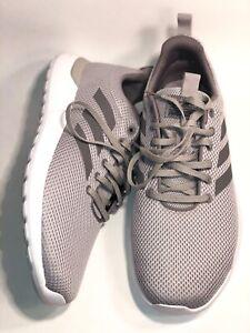 Adidas NEO Lite Racer Mens Size 8 Grey Cloudfoam Sneaker Athletic ...
