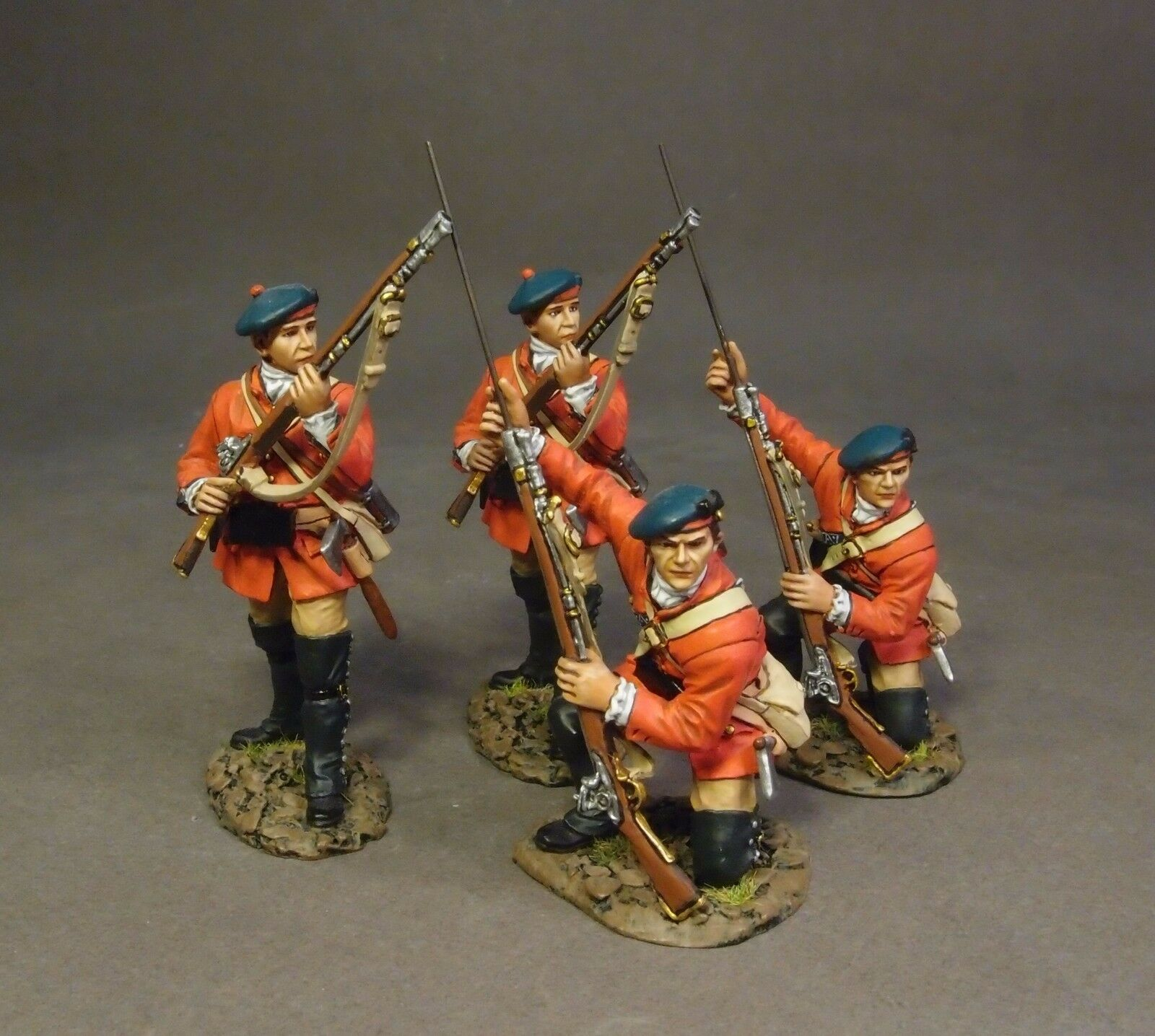 JOHN JENKINS BATTLE OF BRUSHY RUN BRLX-03N BRITISH LIGHT INFANTRY SKIRMISHING MB