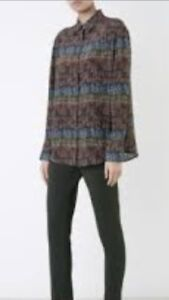Sold-Out-SCANLAN-THEODORE-Silk-Print-Shirt-Sz-12-BNWOT-RRP-350