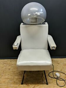 Vintage-Silver-Le-Reine-Jet-London-Salon-Chair-For-Upcycle-but-working