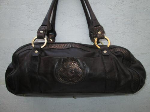 Bag Beg Authentique À Cuir Sac Main Saisir Blumarine Vintage 1q1vXC
