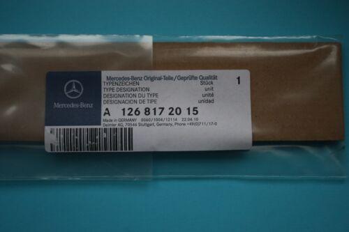 Genuine Mercedes W126 420 SEL Rear trunk badge logo emblem A1268172015