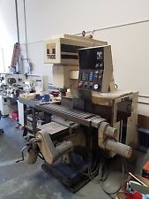 For sale CNC mill as is, brand TREE. color Brown,  table size  48 inch.