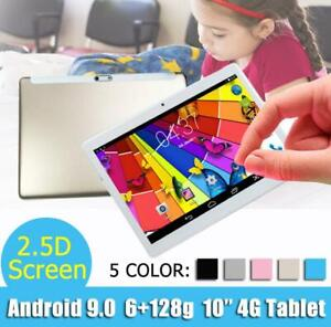 10-1-034-WIFI-4G-LTE-HD-PC-Tablet-Android-9-0-bluetooth-6-128G-SIM-GPS-Dual-Camera