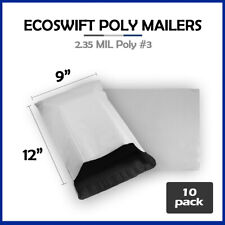 10 9x11 Ecoswift Poly Mailers Plastic Envelopes Shipping Mailing Bags 235mil