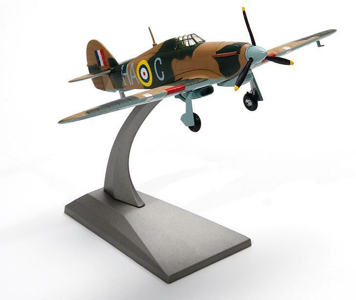 1 72 72 72 Diecast Allory Aircraft Model For WWII Hurricane Fighter Model Collection a9f656