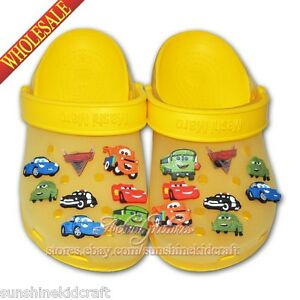 Cars 2 PVC SHOE CHARMS For croc/bracelets wristband,Shoe Ornament,Kid party gift