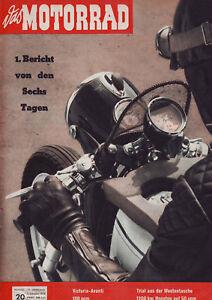 DAS-MOTORRAD-20-58-Victoria-Avanti-100-ccm-Six-Days-4-10-1958-Geburtstag