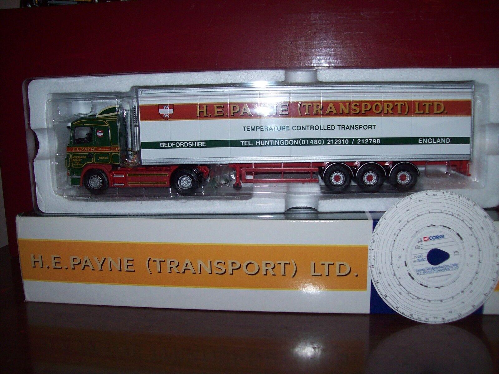 Corgi Modern Heavy 76601 Scania Fridge HE Payne 1 50 Scale