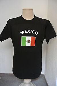Mexico-Unisex-Fun-T-Shirt-Fasching-Mallorca-Funshirt-Fussball-WM-EM-Farbdruck