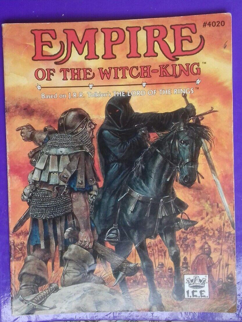 Imperio del rey brujo tierra media MERP fortaleza Aventura Rpg I.C.E Sin Mapas