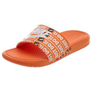 a50f382b04d3c ... slides sandals flip flops. nike 09474 818fb real image is loading nike  benassi jdi print just do it mens d03a7 0d99a ...